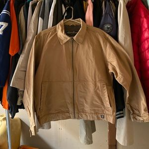 Eddie Bauer khaki jacket